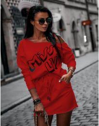 Šaty - kód 274 - červená