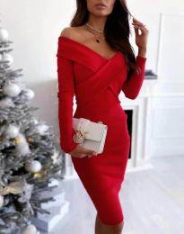 Šaty - kód 6130 - 3 - červená