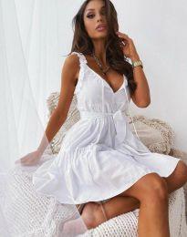 Šaty - kód 0710 - 3 - biela