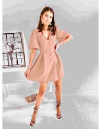 Šaty - kód 0807 - pudrová
