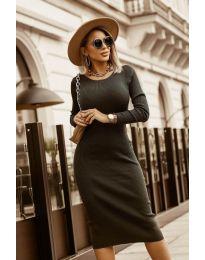 Šaty - kód 8485 - čierná