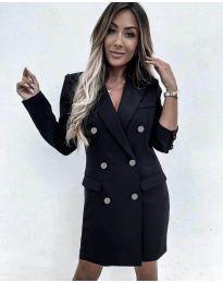 Šaty - kód 5889 - čierná