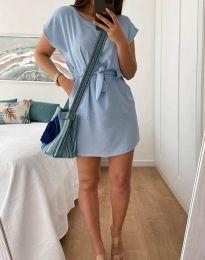 Šaty - kód 2258 - svetlo modrá