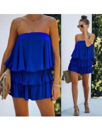 Šaty - kód 0489 - tmavomodrá