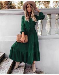 Šaty - kód 5150 - olivová  zelená