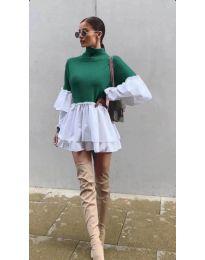 Šaty - kód 1188 - zelená