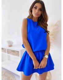 Šaty - kód 477 - modrá
