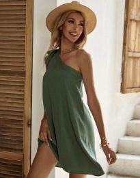 Šaty - kód 7003 - olivovo zelená