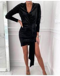 Šaty - kód 62688 - 2 - čierná