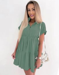 Šaty - kód 8889 - mentolová