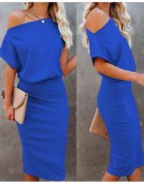 Šaty - kód 1737 - modrá