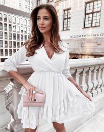 Šaty - kód 0545 - biela