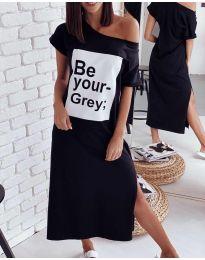 Šaty - kód 0506 - čierná