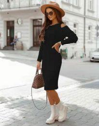 Šaty - kód 8203 - čierná