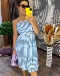 Šaty - kód 14777 - 1 - svetlo modrá