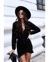 Šaty - kód 395 - čierná