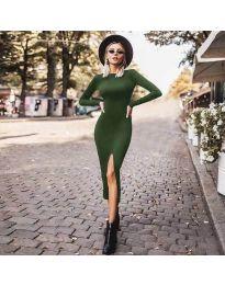 Šaty - kód 4177 - zelená