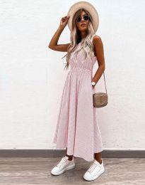 Šaty - kód 2687 - svetlo ružová