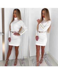 Šaty - kód 1788 - biela
