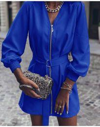 Šaty - kód 820 - modrá