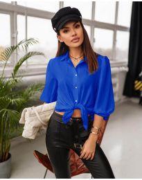 Košeľa - kód 7482 - modrá