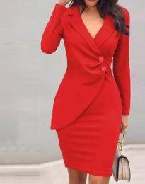 Šaty - kód 2431 - červená