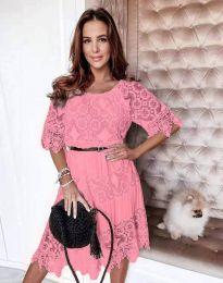 Šaty - kód 6979 - ružová
