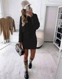 Šaty - kód 0235 - čierná