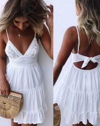Šaty - kód 7115 - 1 - biela
