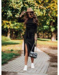 Šaty - kód 9010 - čierná
