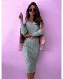 Šaty - kód 5878 - mentolová