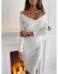 Šaty - kód 6130 - biela