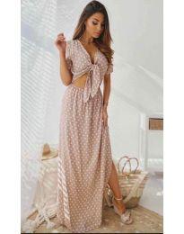 Šaty - kód 735 - ružová