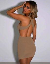 Šaty - kód 11965 - bežová