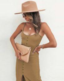 Šaty - kód 8841 - cappuccino
