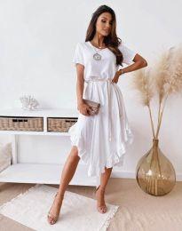 Šaty - kód 11893 - biela