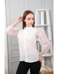 Košeľa - kód 0633 - 3 - biela