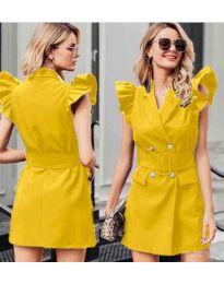 Šaty - kód 311 - žltá