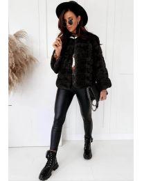 Kabát - kód 7676 - čierná