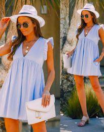 Šaty - kód 7141 - svetlo modrá