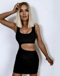 Šaty - kód 12001 - čierná