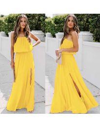 Šaty - kód 061 - žltá