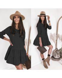 Šaty - kód 8486 - čierná