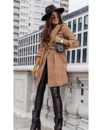 Kabát - kód 3839 - cappuccino