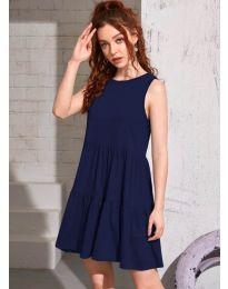 Šaty - kód 4471 - tmavomodrá
