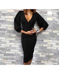 Šaty - kód 8706 - 1 - čierná