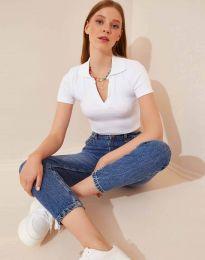 Tričko - kód 13033 - biela