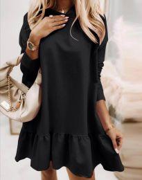 Šaty - kód 9376 - čierná