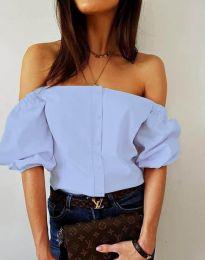 Košeľa - kód 3525 - svetlo modrá