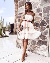 Šaty - kód 3065 - biela
